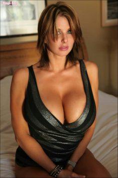 Nice girl with beautiful big tits