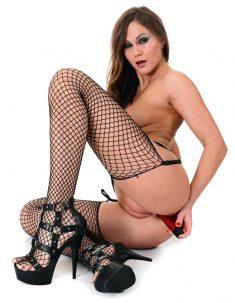 Beautiful Tina Kay in passionate anally masturbation