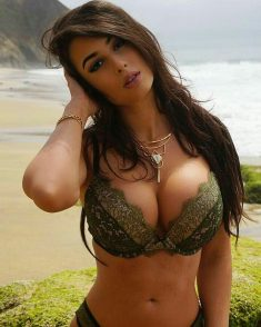 Sexy Brunette With Big Tits