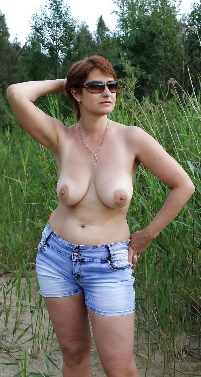 Big Mature Naked Tits Woman