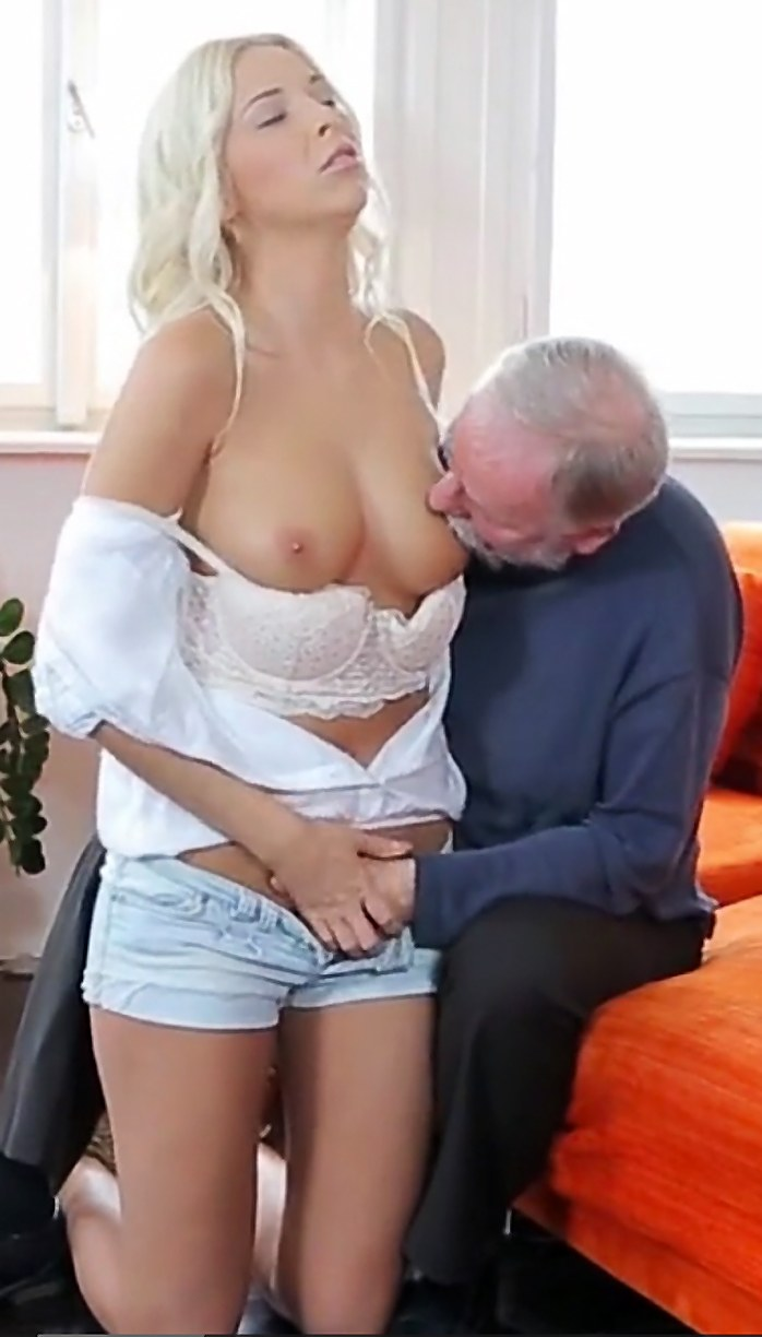Old Man Fucks Young Woman