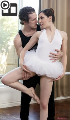 Ember Stone – Petite Ballerina Spinner – Petite Ballerinas Fucked