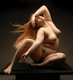 Full Figured Nude is a photograph by Chris Maher