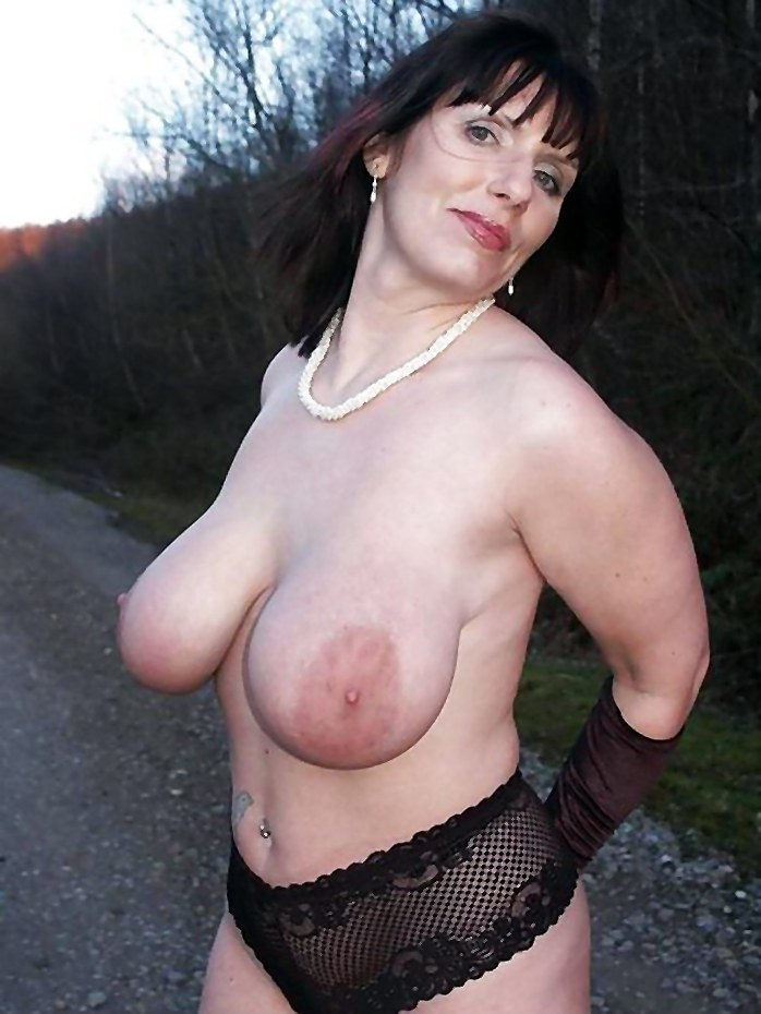 Mature women with large breasts