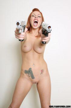 Hot sexy redhead