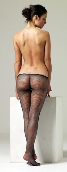 Girl in pantyhose