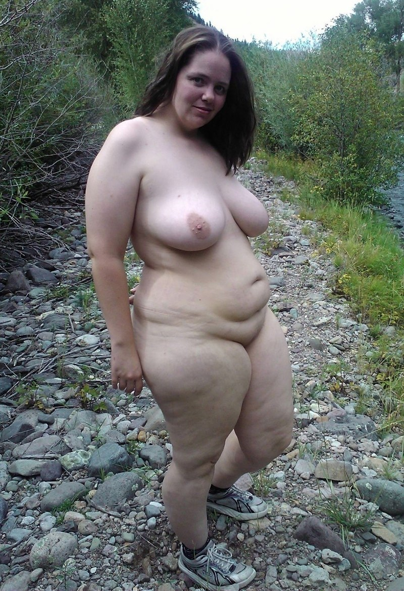Fat naked lady