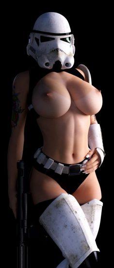 Starwar girl