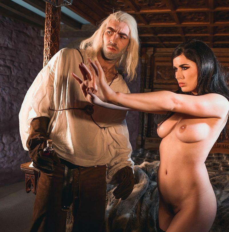 The Bewitcher czyli Wiedźmin w wersji porno. Produkcja Digital Playground, występują: Danny D i  ...