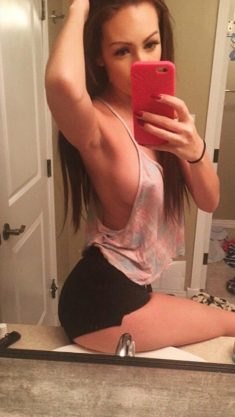 OMG-Teens |   Hot amateur teen selfshot braless