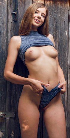 Young sexy girl Kay Jay
