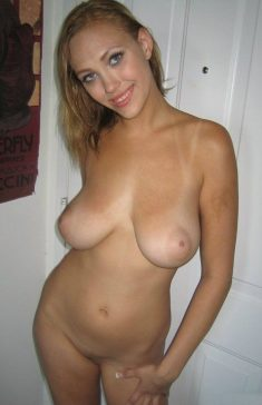 Beautiful amateur with nice big breasts