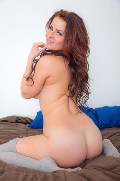 Emmy Sinclair On The Bed