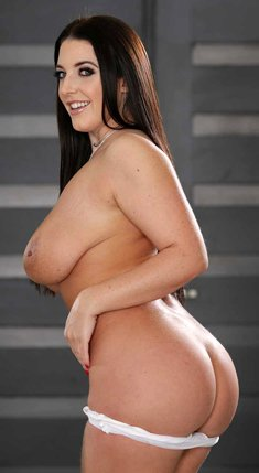 Angela White has the hottest ass