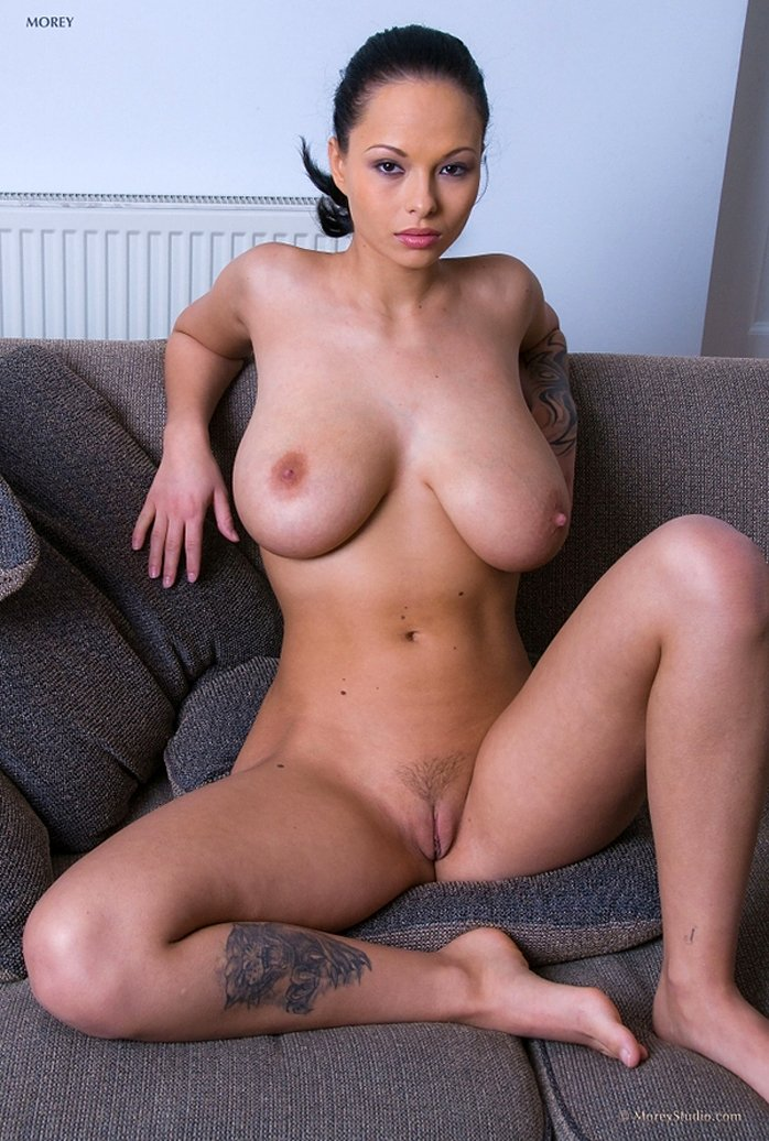 Busty Domino has very nice pussy
