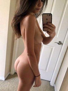 Teen chick sexy selfie