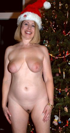 Hot sexy women naked for christmas