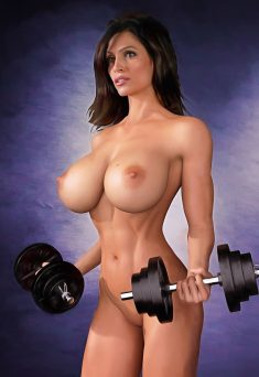 Nude celebrities by erotiscopic – Denise Milani