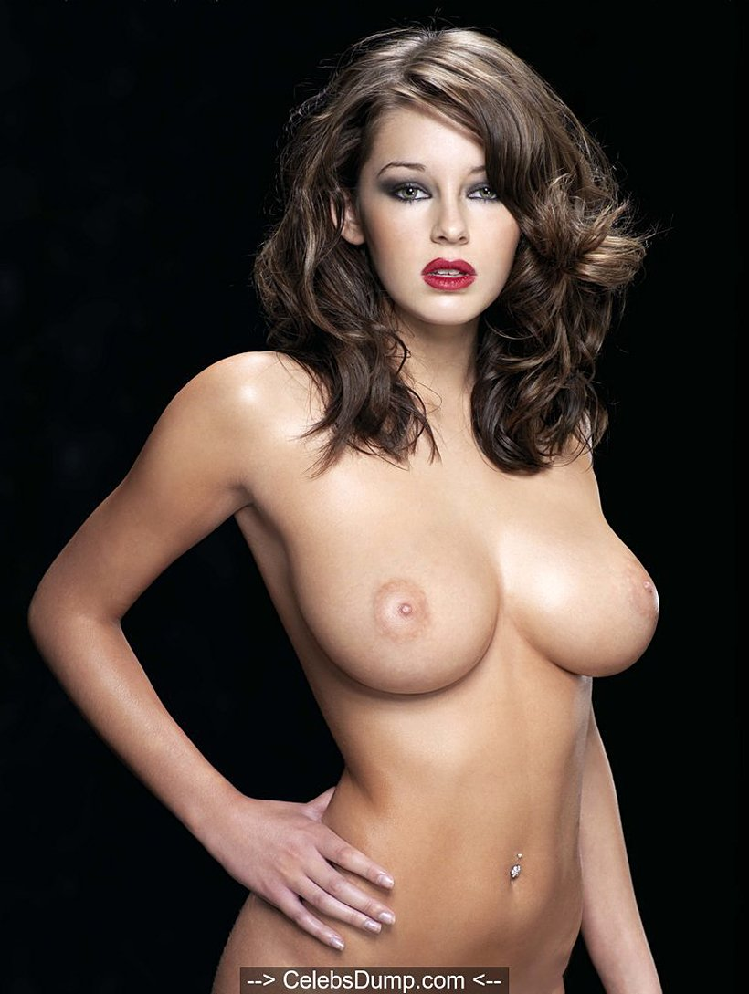 Busty Keeley Hazell nude for Maxim magazine - Image 1