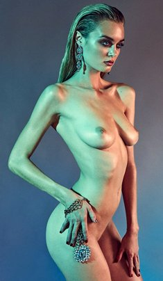 Signe Rasmussen fully nude