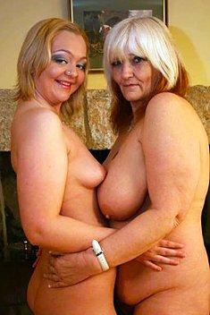 Mature British Lesbian Couple