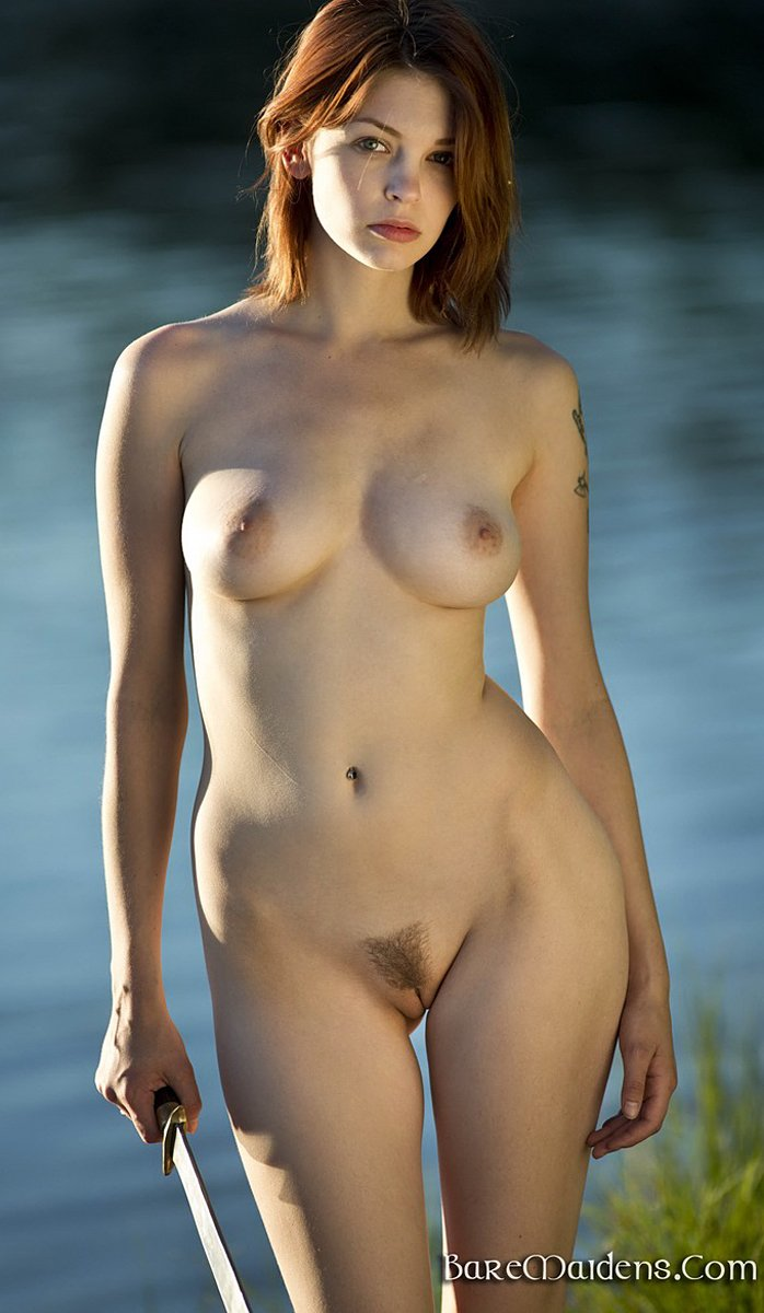 Sexy redhead Bree Daniels in lakeside pleasures