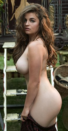 Busty Austrian Playmate Ronja Forcher Via Playboy