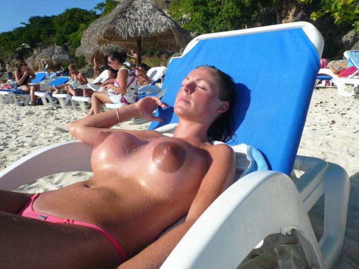 Mamma in spiaggia