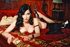 Dita in bed