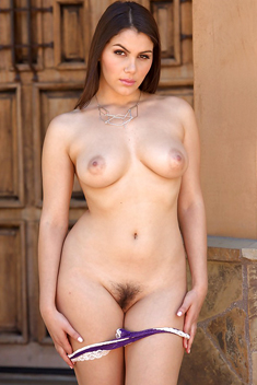 Valentina Nappi shows perfect tits and masturbates with dildo