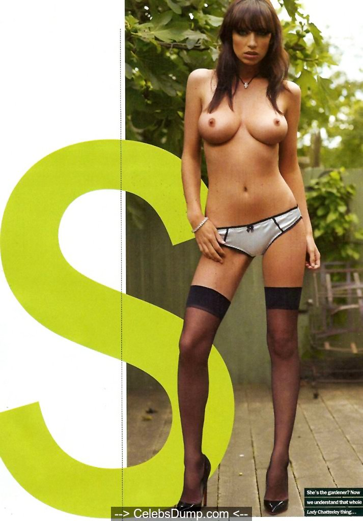 Sophie Howard nude in Maxim Magazine