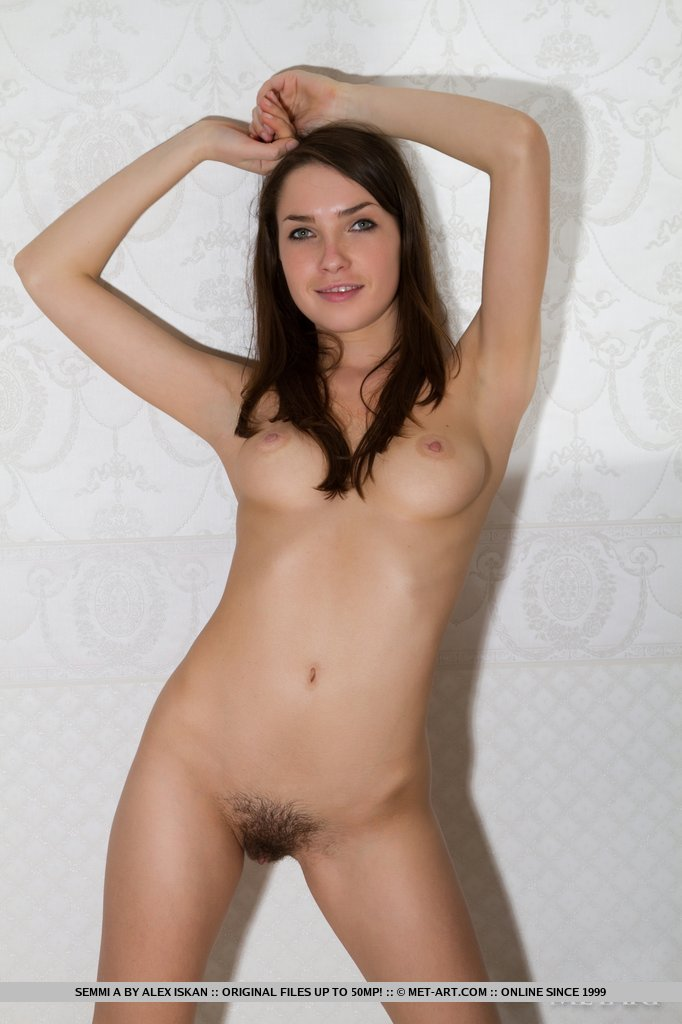 cute nude brunettes hairy pussy
