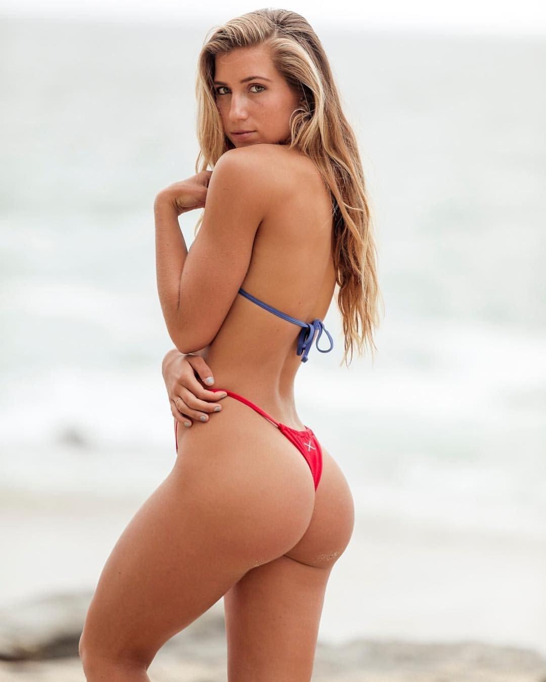 Female ass underwear, image photo