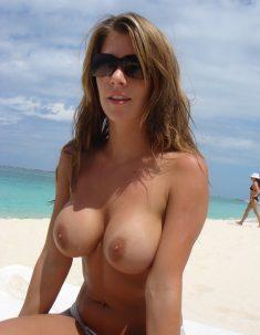 Sweet Busty Mature Brunette Wife