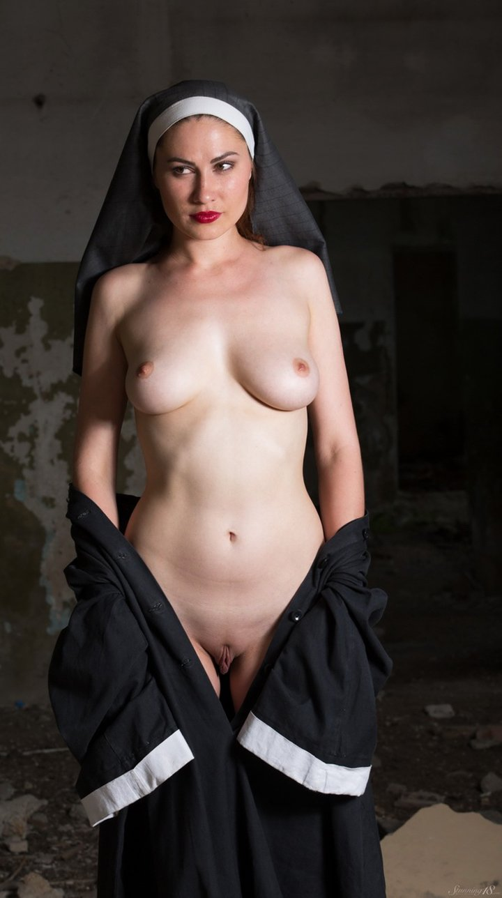 Playful nun Judith Able