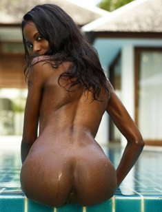 Beautiful Black bum