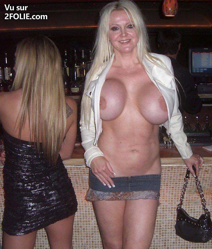 Lori Pleasure Showing Her Big Boobs