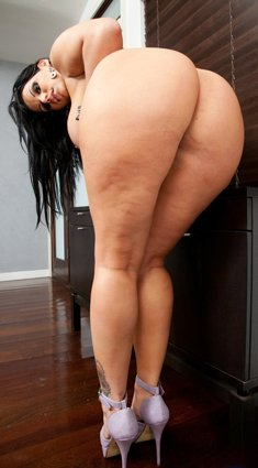 Angelina Castro showing her huge Ass and big Tits