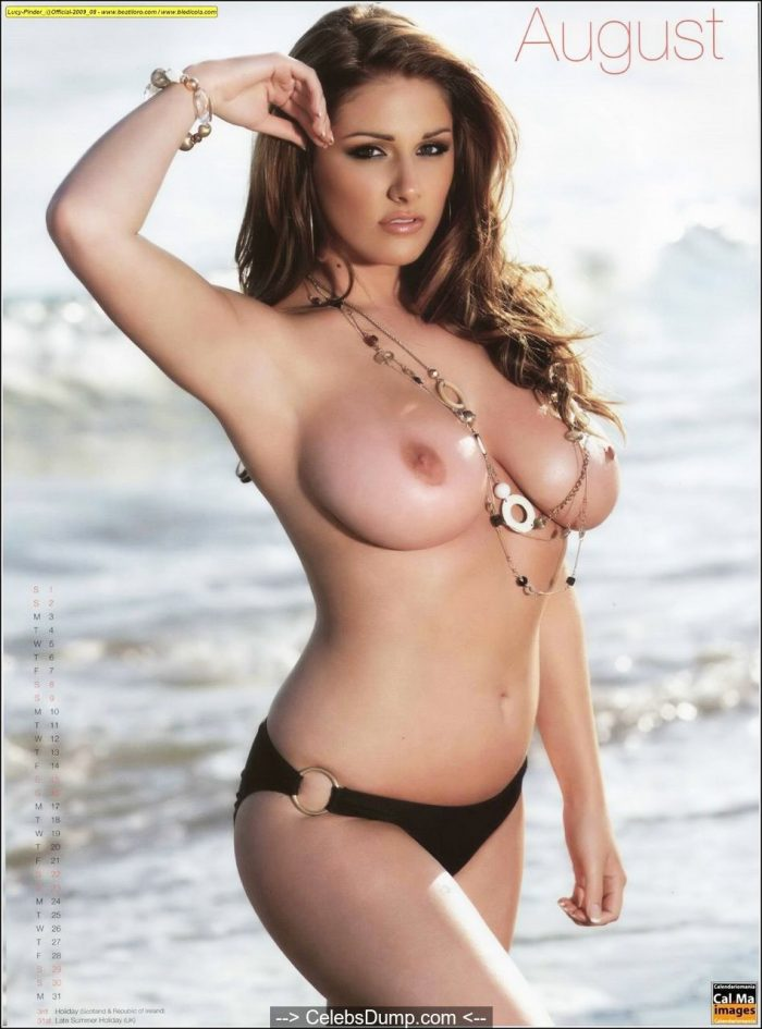 Lucy Pinder exposed her great naked body