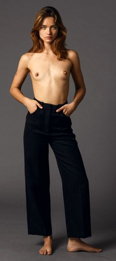 Myrtille Revemont sexy and topless