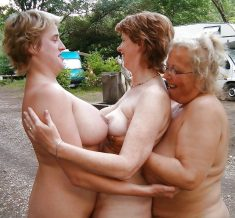 Hot mature women naked in group