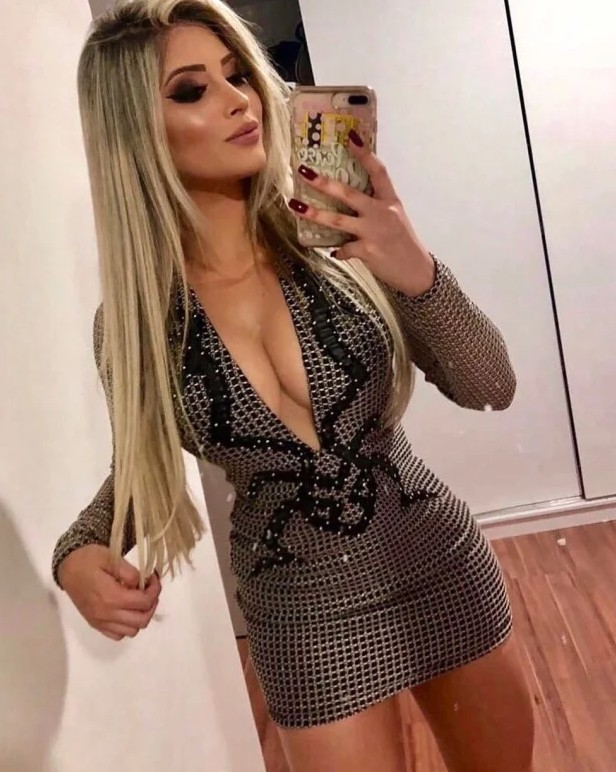 Hot Blonde Ready For A Long Night Fucking
