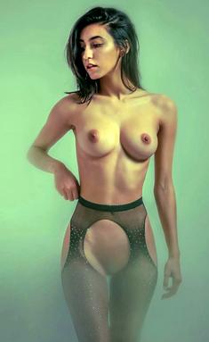 Deisy Leon fully nude
