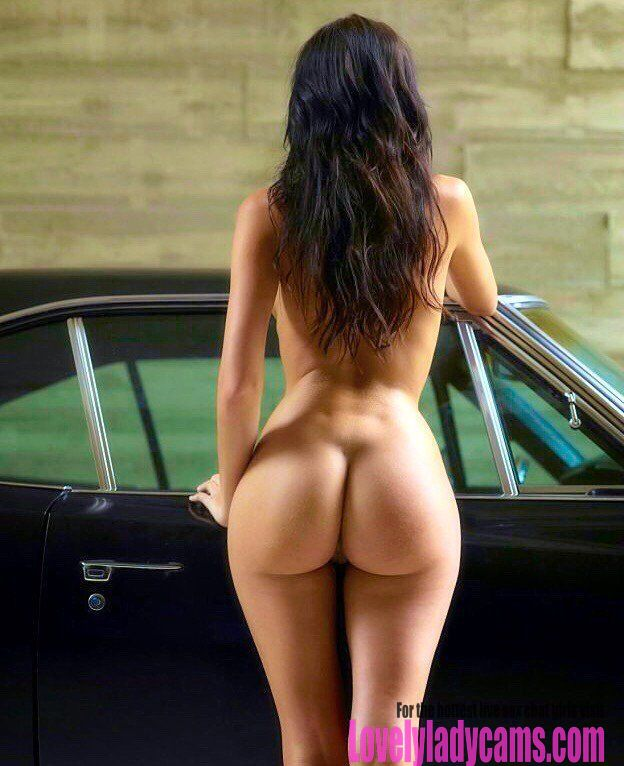Hot brunette with a perfect ass