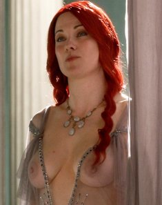 Lucy Lawless see through in Spartacus – nCelebGif