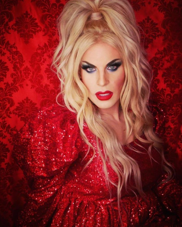 Blonde shemale Katya