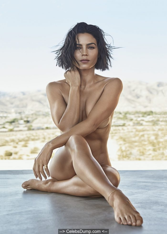 Jenna Dewan nude but covered for Women's Health Magazine