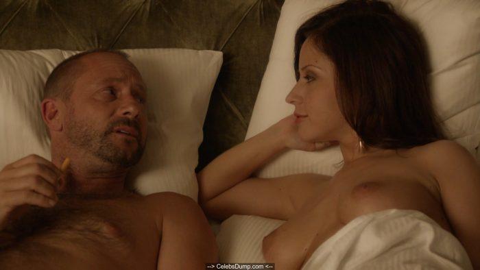Marina Tsevas naked at Transporter The Series