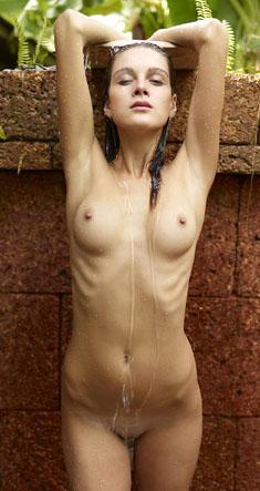 Young Slim Girl Zaika in Thai Bath