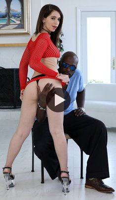 Joseline Kelly gets a hardcore rough interracial fuck with big black cock